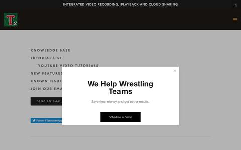 Screenshot of Support Page levelchanger.com - Support | Takedown Scoring and Stats - captured July 18, 2018