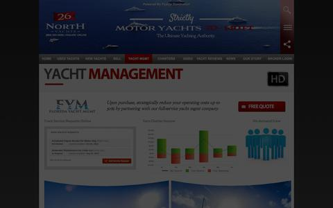 Screenshot of Signup Page Team Page 26northyachts.com - Motoryacht Management | 26 North Yachts - captured Jan. 12, 2016