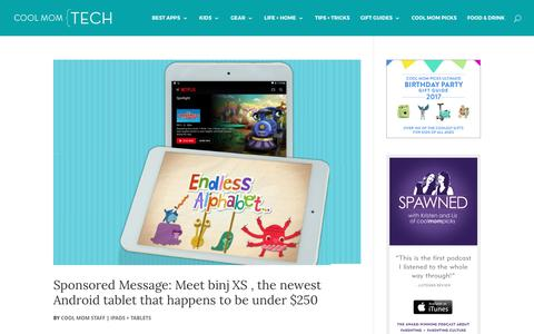 iPads + Tablets Archives | Cool Mom Tech