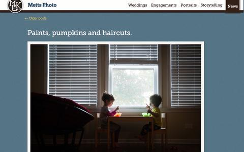 Screenshot of Press Page mettsphoto.com - Blog | Metts Photo - captured Oct. 27, 2014