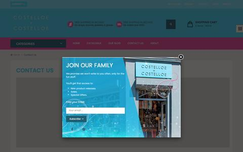 Screenshot of Contact Page costelloeandcostelloe.com - Contact Us – Costelloe + Costelloe - captured May 22, 2017