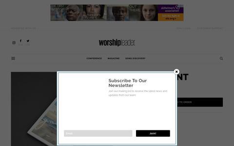 Screenshot of Signup Page worshipleader.com - FREE ACCOUNT - Worship Leader - captured June 11, 2019