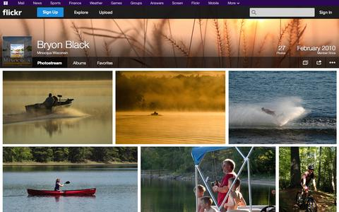 Screenshot of Flickr Page flickr.com - Flickr: Minocqua Wisconsin's Photostream - captured Oct. 26, 2014