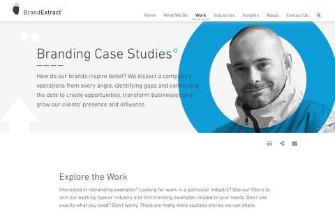 Branding Case Studies - BrandExtract