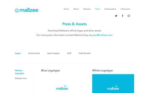 Screenshot of Press Page mallzee.com - Mallzee: The Fashion Shopping App | Press - captured Nov. 4, 2018