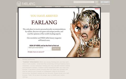 Screenshot of Privacy Page farlang.com captured Sept. 19, 2014