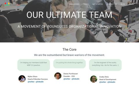 Screenshot of Team Page reframeyourclients.com - Team - ReframeYourClients - captured Sept. 29, 2018