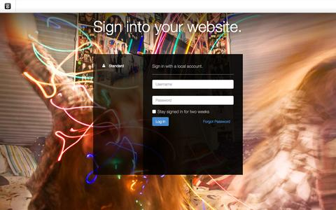 Screenshot of Login Page drgok.com - Delaware Resource Group :: Login - captured Dec. 29, 2015