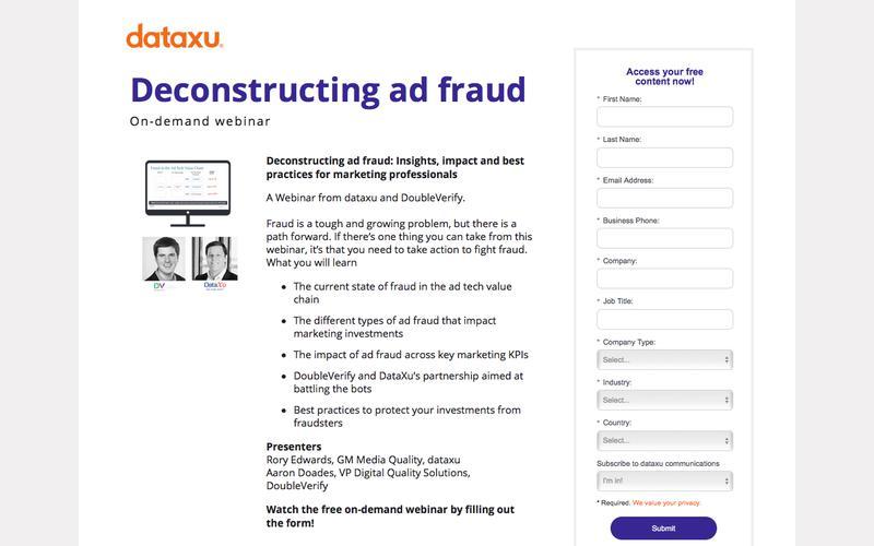 Webinar Replay: Deconstructing Ad Fraud for Marketing Professionals