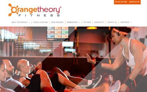 Orangetheory Fitness > Corporate > News