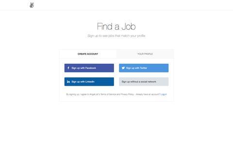 Find a Job - AngelList - AngelList