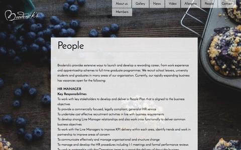 Screenshot of Team Page brodericks.co.uk - People - captured Feb. 4, 2016
