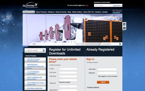 Screenshot of Login Page sst-us.com - Register - captured Dec. 2, 2016