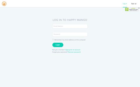 Screenshot of Blog happymangocredit.com - Welcome to Happymangocredit.com - captured July 15, 2017