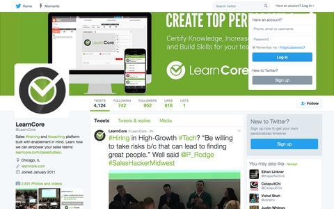 LearnCore (@LearnCore) | Twitter