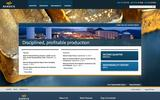 Old Screenshot Barrick Gold Corporation Home Page
