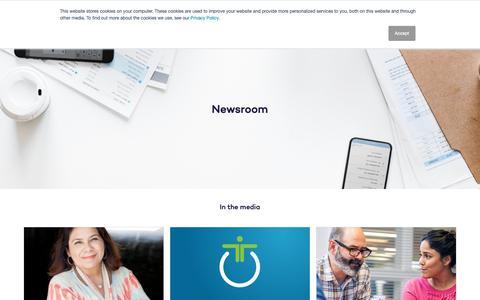 Screenshot of Press Page valueselling.com - Newsroom   ValueSelling Associates - captured Oct. 18, 2018