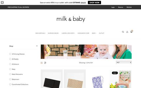 Hospital and Postpartum Must Haves – Milk & Baby