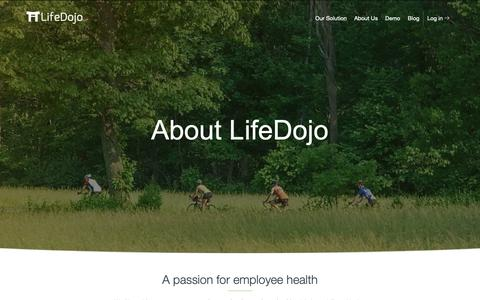 Screenshot of About Page lifedojo.com - About Us | LifeDojo - captured June 19, 2019
