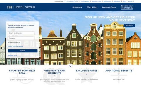 NH Hotel Group Rewards | NH Hotel Group