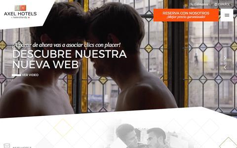 Axel Hotels | Barcelona, Madrid, Berlín, Ibiza y Canarias | Web Oficial