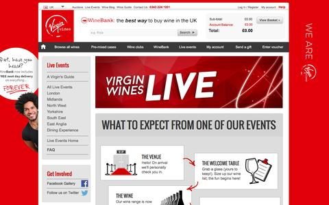 Screenshot of FAQ Page virginwines.co.uk - Wine Tastings in London, Manchester, Leeds, Oxford and many many more | Virgin Wines - captured Aug. 19, 2016
