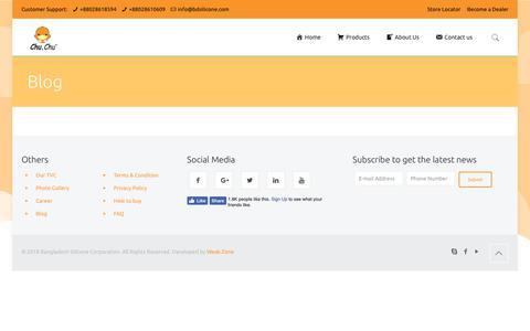 Screenshot of Blog bdsilicone.com - Blog – Bangladesh Silicone Corporation - captured Oct. 5, 2018