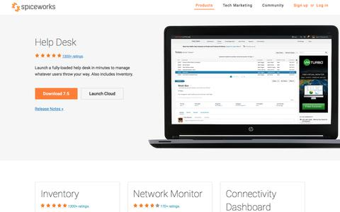 Free IT & Networking Software from Spiceworks