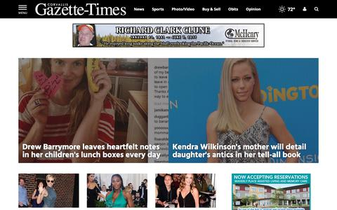 Screenshot of Team Page gazettetimes.com - People | gazettetimes.com - captured June 24, 2017