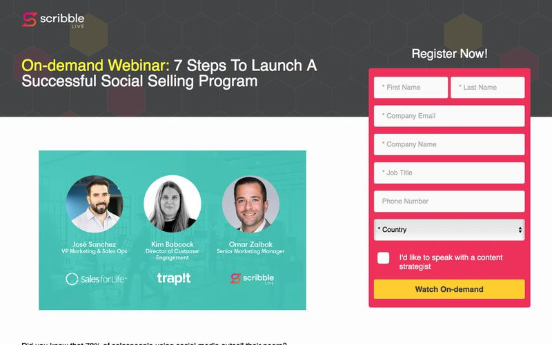 7 STEPS TO LAUNCH A SUCCESSFUL SOCIAL SELLING PROGRAM
