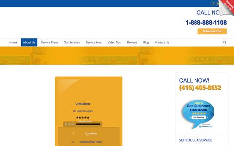 Screenshot of Press Page mybosco.com - Bosco Home Services - Media Page - Mississauga, ON - captured Dec. 26, 2016