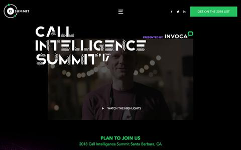 Invoca's Call Intelligence Summit'17 - Join us for a three-day learning and networking event for Invoca customers, leading digital marketers, partners, and industry experts.