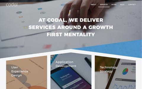 Services | Codal