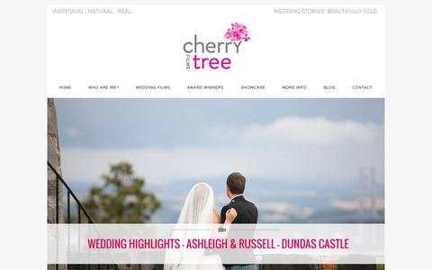 Screenshot of Testimonials Page cherrytree-films.com - Testimonials » Cherry Tree Films Website and Wedding Film Blog - captured Sept. 29, 2014