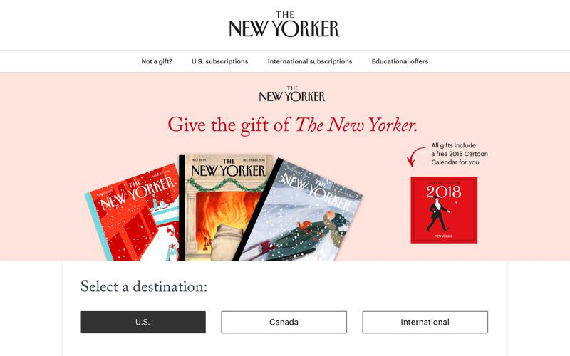 The New Yorker Subscription