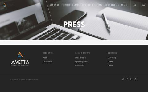 Press – AVETTA Global