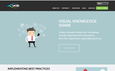 VKS- Create And share Digital Work instructions