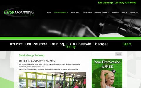 Elite Training Tulsa | Small Group Training | Elite Training