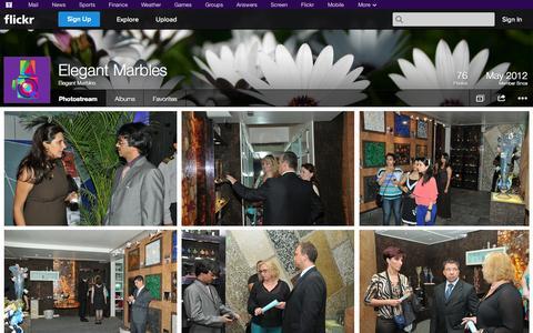 Screenshot of Flickr Page flickr.com - Flickr: Elegant Marbles' Photostream - captured Oct. 22, 2014