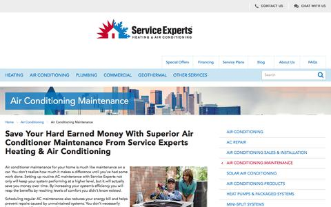 North America AC Maintenance | Service Experts