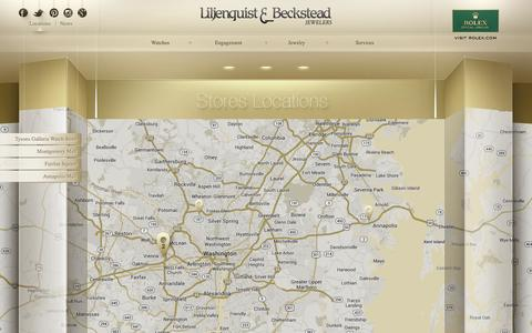 Screenshot of Locations Page liljenquistbeckstead.com - Liljenquist & Beckstead | Locations - captured Oct. 2, 2014