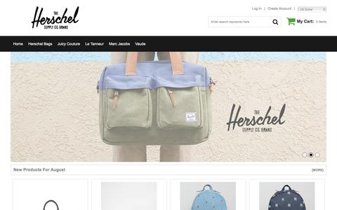 Screenshot of Home Page livingeducationgroup.com - Herschel Bags London Official Shop Online For 100% Authentic - captured Aug. 22, 2017