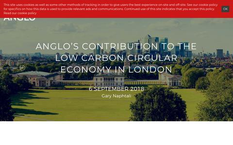 Screenshot of Press Page anglo-ltd.com - News | Anglo Office Group - captured Oct. 3, 2018