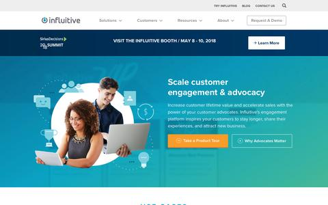 Advocacy and Engagement Software - Influitive - Influitive