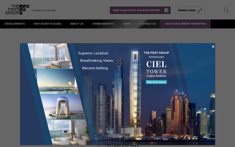 Screenshot of Contact Page thefirstgroup.com - Contact Us | Invest In Dubai | The First Group - captured Feb. 27, 2019