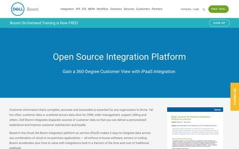 Customer Data Integration - Dell Boomi