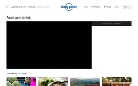 Food and drink channel - Lonely Planet video