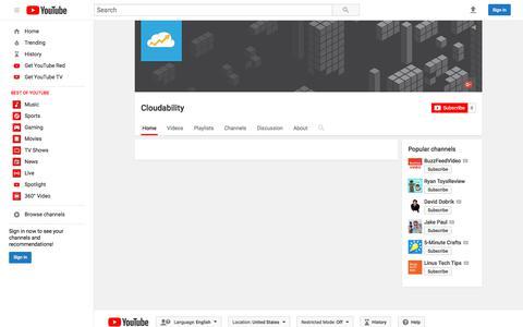 Cloudability  - YouTube