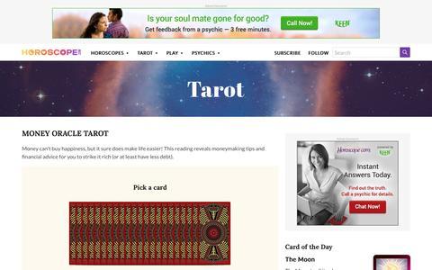 Money Oracle Tarot Reading | Horoscope.com