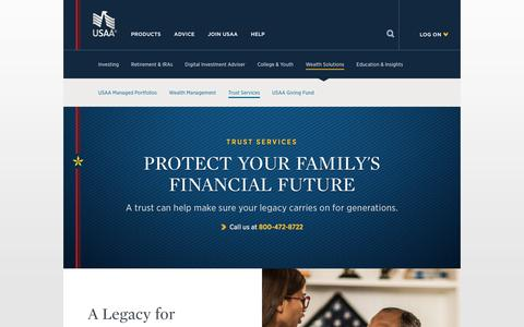 Asset Management: Trusts and Trust Services | USAA